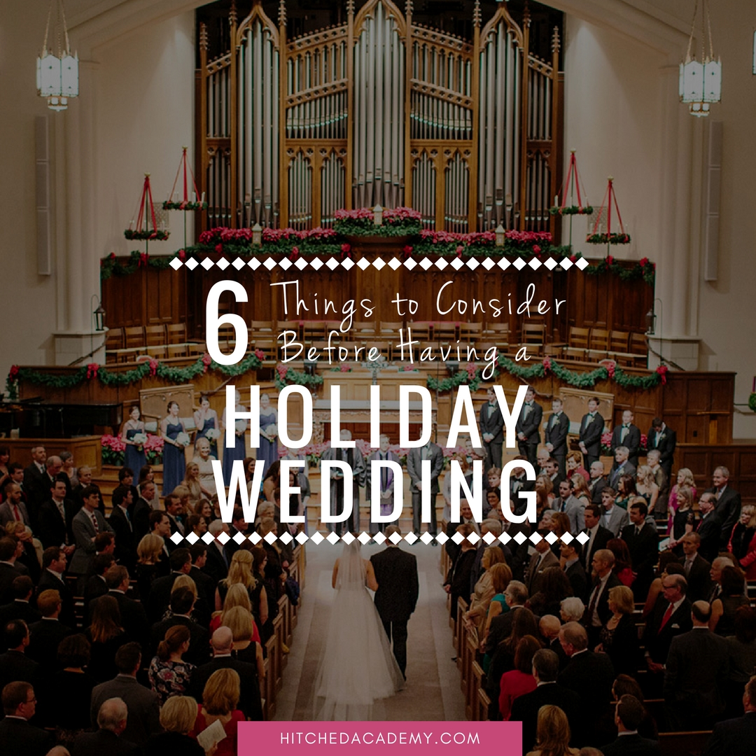 Having-a-holiday-wedding